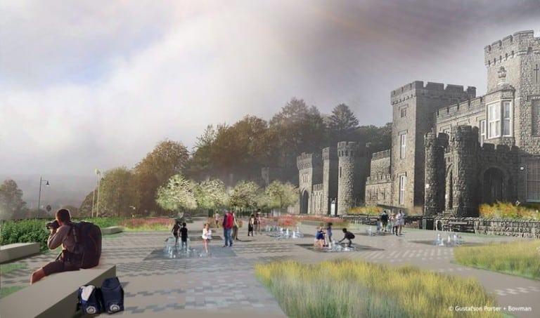 cyfarthfa castle park plan