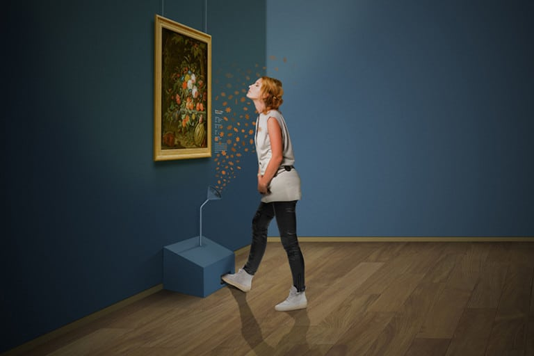 mauritshuis scent smell exhibition
