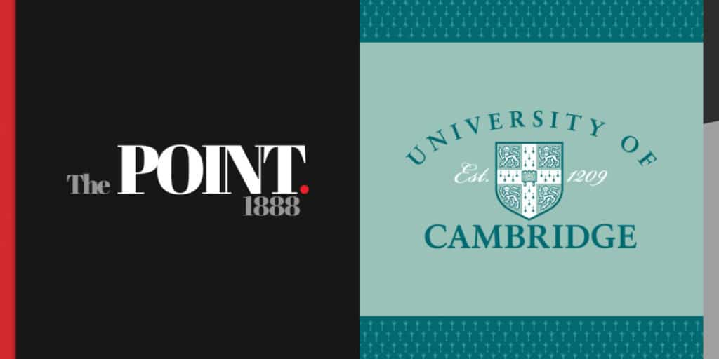 university of cambridge the point licensing
