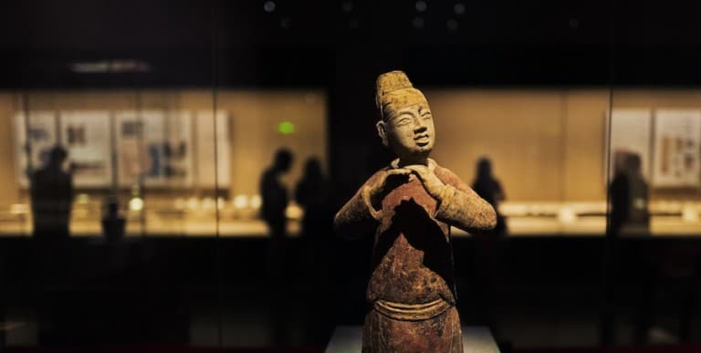 most visited museums asia pottery figure