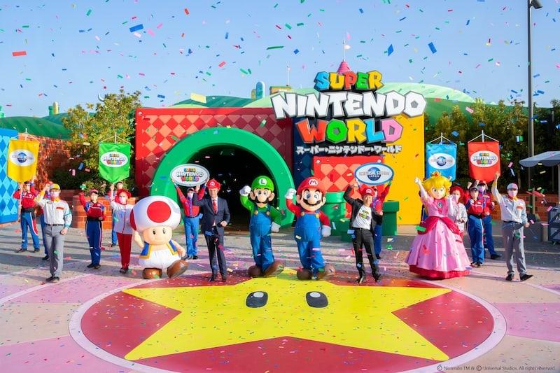 super nintendo world universal studios japan grand opening