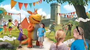 Children at the Zog trail from T3 creative agency at warwick castle