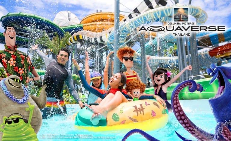 columbia pictures aquaverse