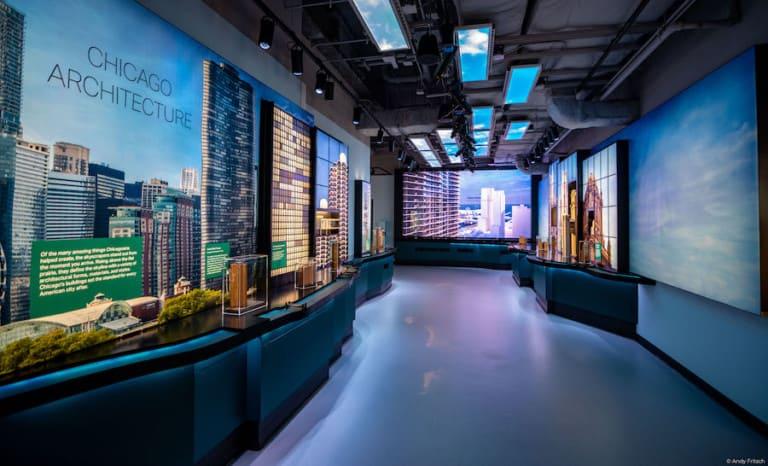 Architecture exhibit Skydeck Chicago Squint:Opera