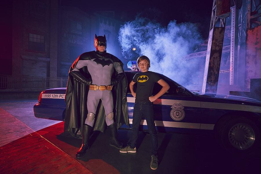 Batman at Warner Bros Abu Dhabi