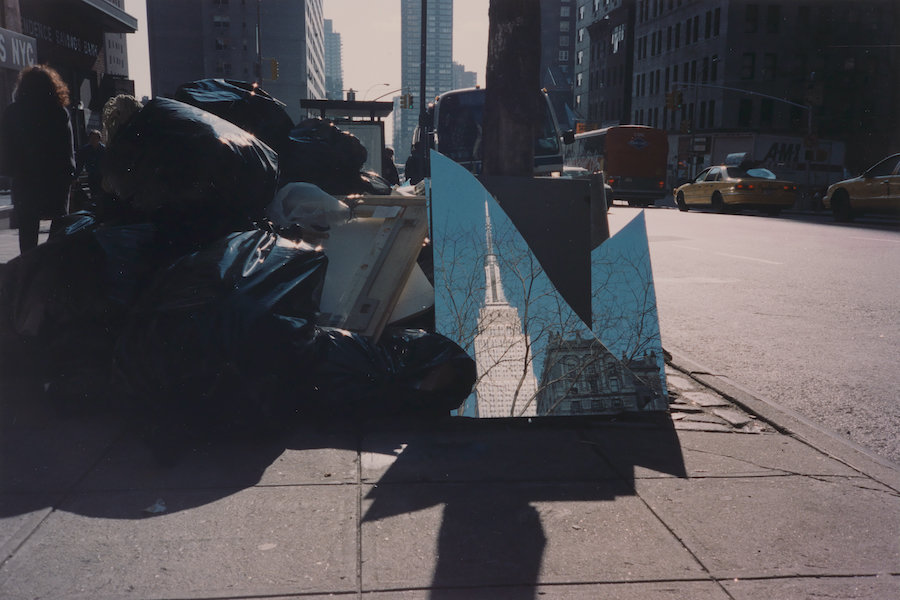 Kenji Nakahashi. Empire on Mirror, 1998. Chromogenic development print. Museum of the City of New York MCNY
