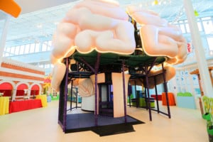 Mississippi Children's Museum Meridian giant brain