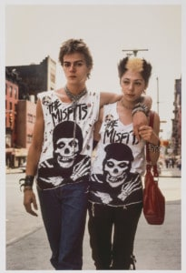 Robert Herman The Misfits, New York, 1981 (printed later) Archival pigment print MCNY