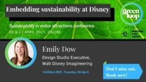 greenloop Emily Dow sustainability Disney