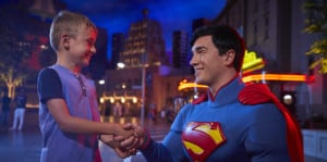 Superman at Warner Bros Abu Dhabi