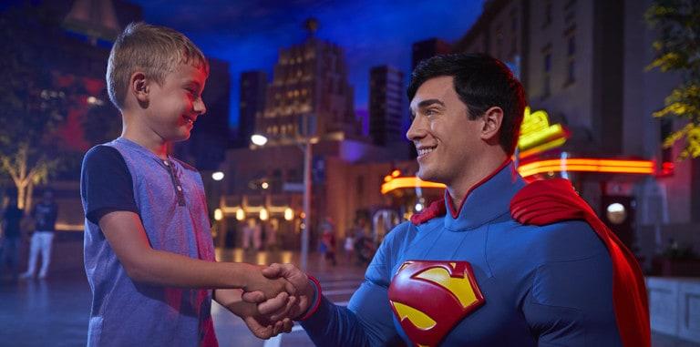 Superman at Warner Bros Abu Dhabi