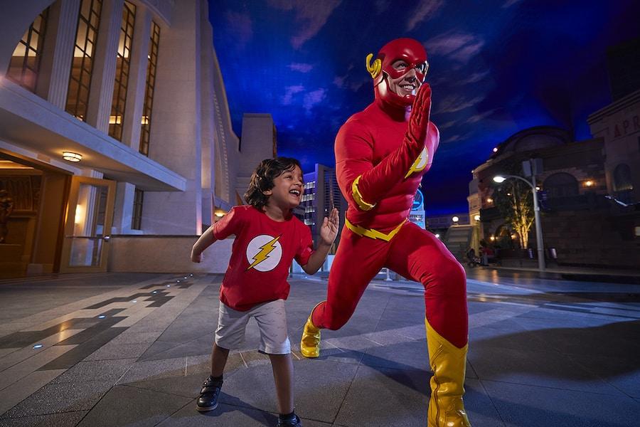 The Flash Warner Bros World Abu Dhabit