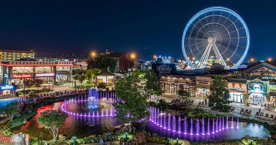 The Island Pigeon Forge