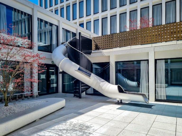 Wiegand Slide dry slide Google Headquarters Zurich