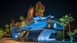 disneyland avengers campus marvel