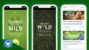 disney earth day experience app