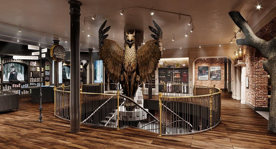 harry potter new york flagship store