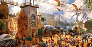london resort dinosaurs