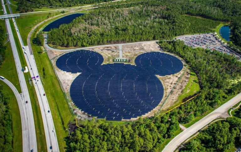 walt disney world solar farm