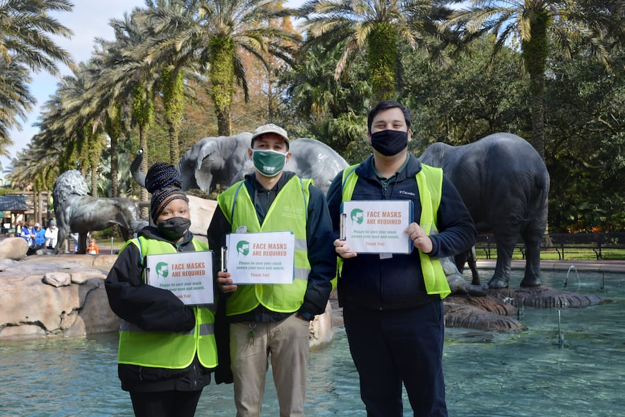 Audobon Zoo face masks guest experience post covid