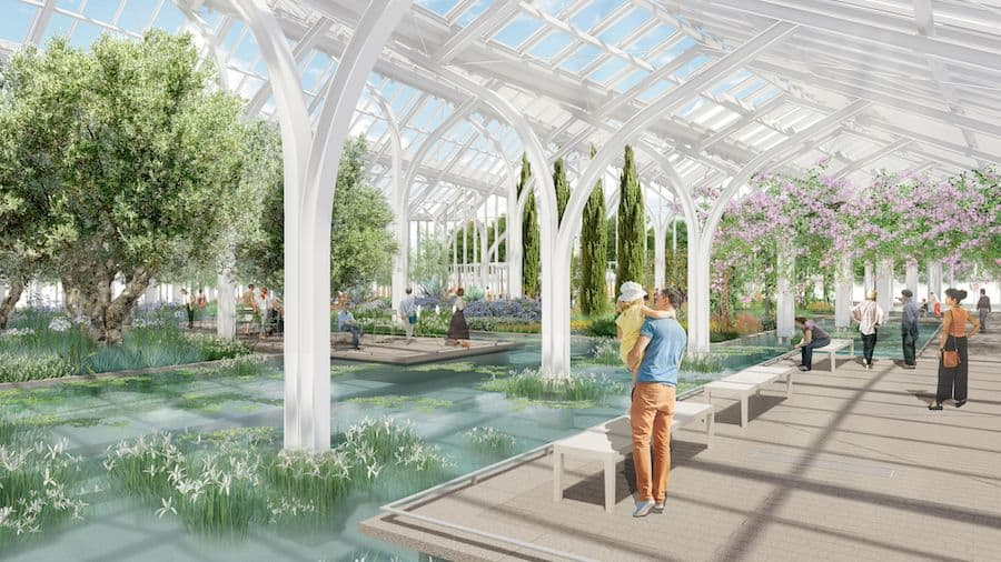 Longwood reimagined West Conservatory