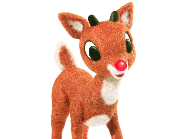 Image of Rudolph the Reindeer character