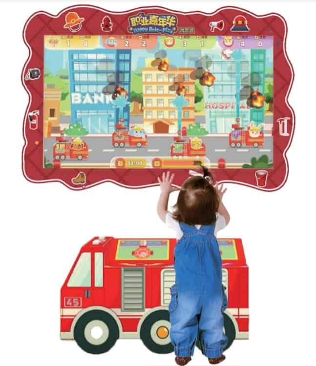 Child playing Role Play Carnival by Sindrax Technologies