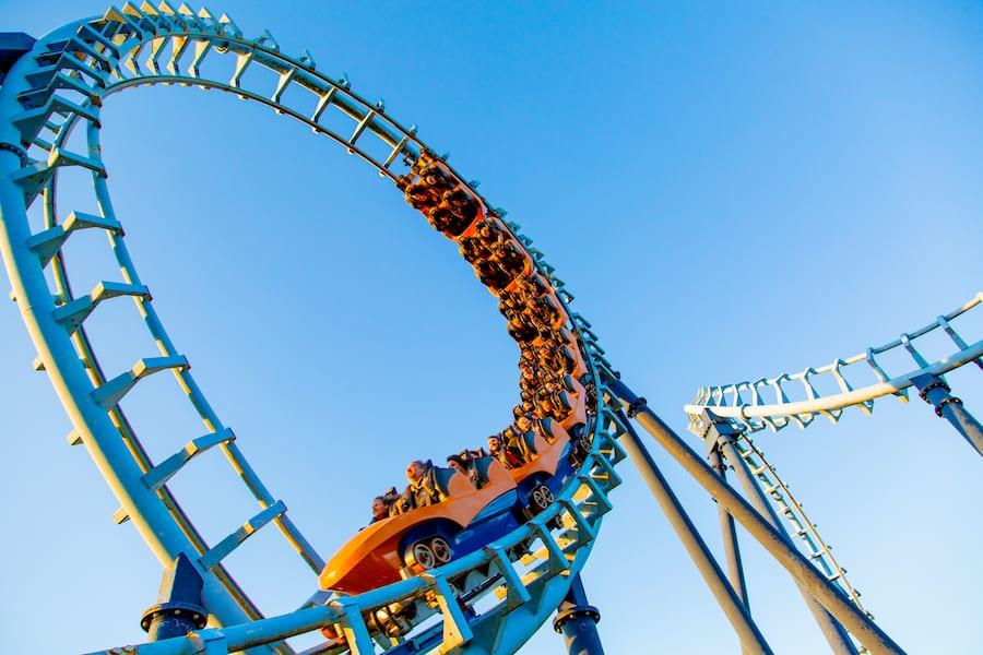 Rollercoaster Pleasurewood Hills