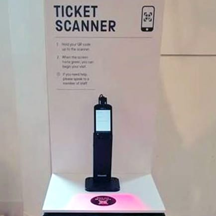 SMG Contactless Scanner