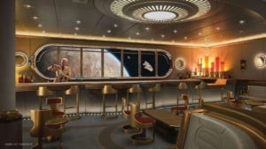 Star Wars lounge Disney Wish