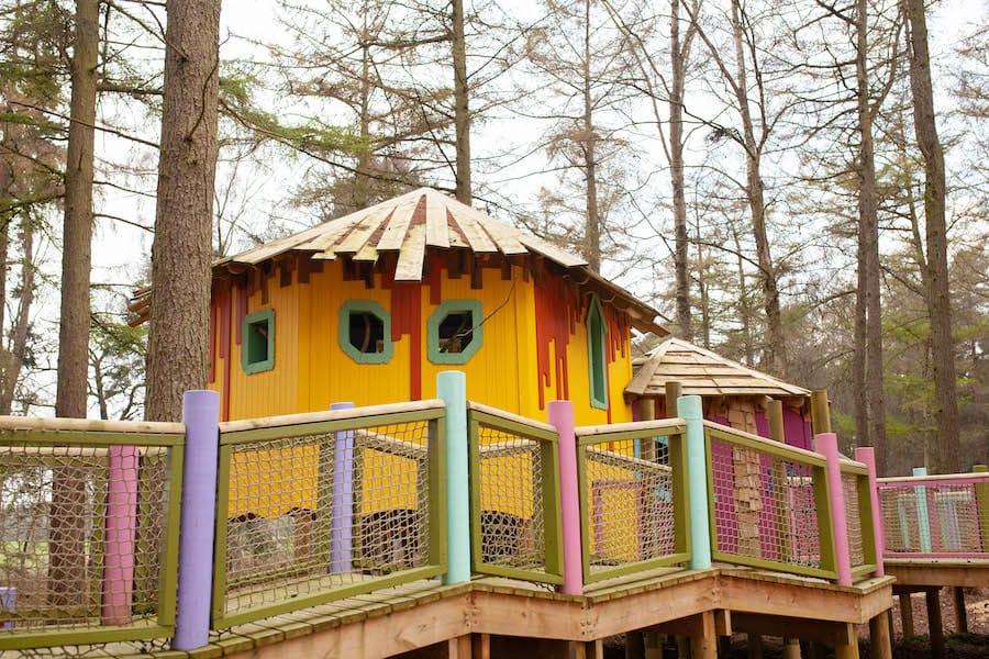 Treehouse BeWILDerwood Cheshire