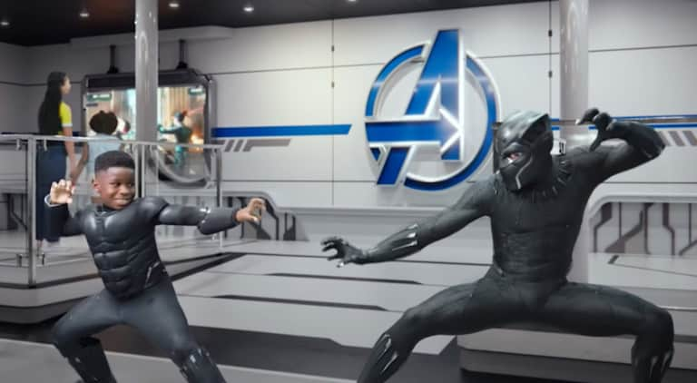 disney wish avengers experience