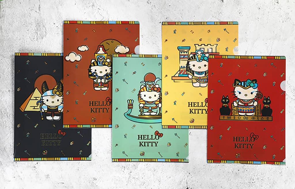 hello kitty egyptian pop-up store