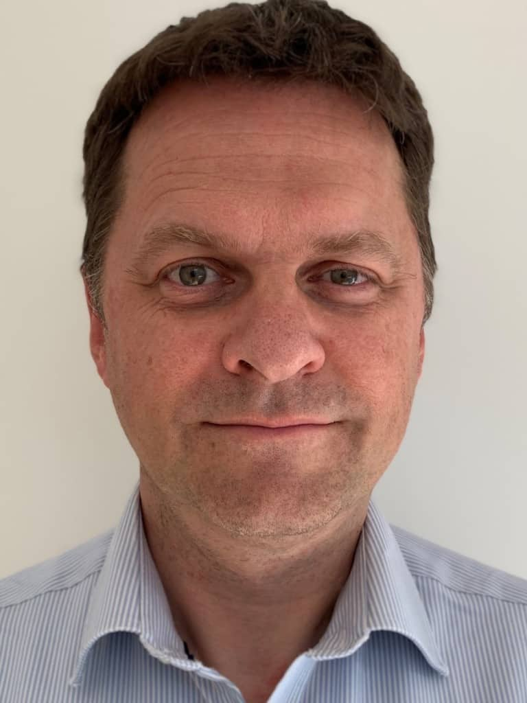 Photo of Joe Marshall, General Manager of Gateway Ticketing Systems UK