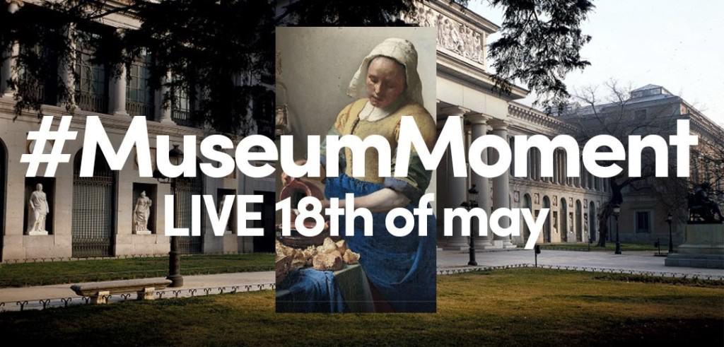 #museummoment graphic tiktok.