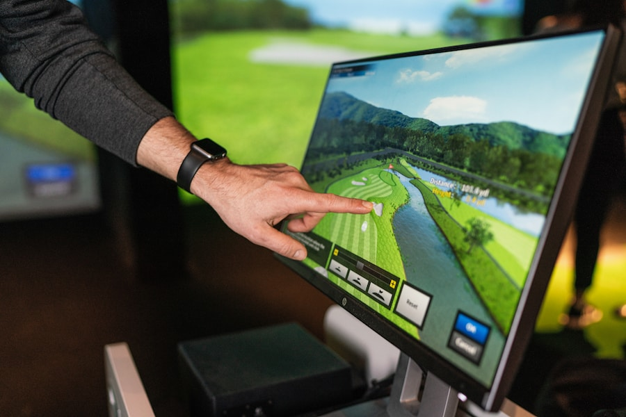 x-golf virtual golf
