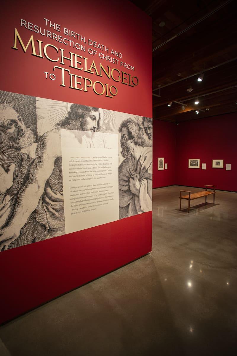 Christ Birth Death and Resurrection exhibition