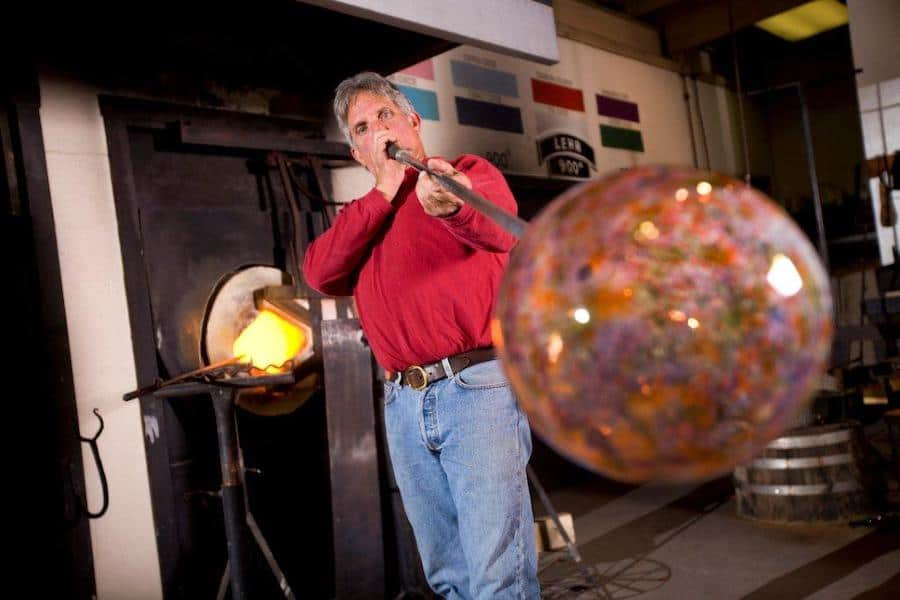 Dollywood glass blowing