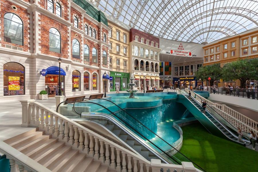 Dream Island Moscow_mall