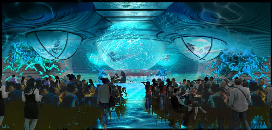 Immersive Dining Venue Concept by Legacy Entertainment
