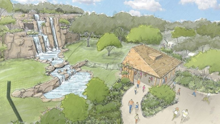 Longhorn Organics ft worth zoo new area concept drawing