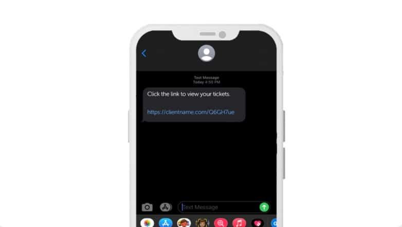 SMS ticketing RocketRez
