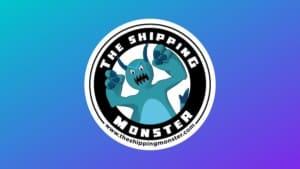 Shipping monster Banner