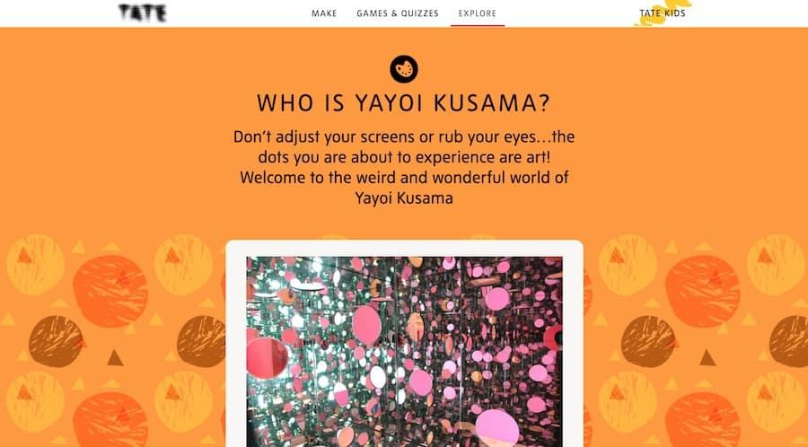 Who is Yayoi Kusama