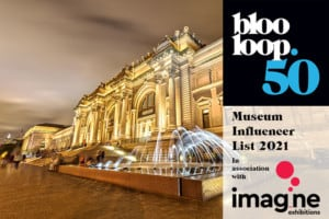 Blooloop 50 museum influencer list with Imagine Exhibitions