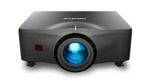 christie inspire projector front
