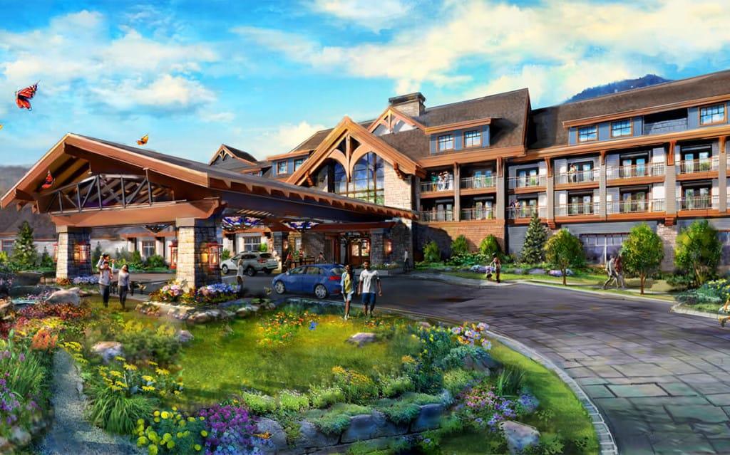 dollywood heartsong lodge and resort