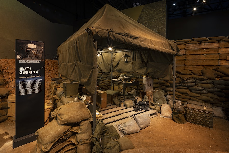 National Museum of Military Vehicles_theming and props_roto