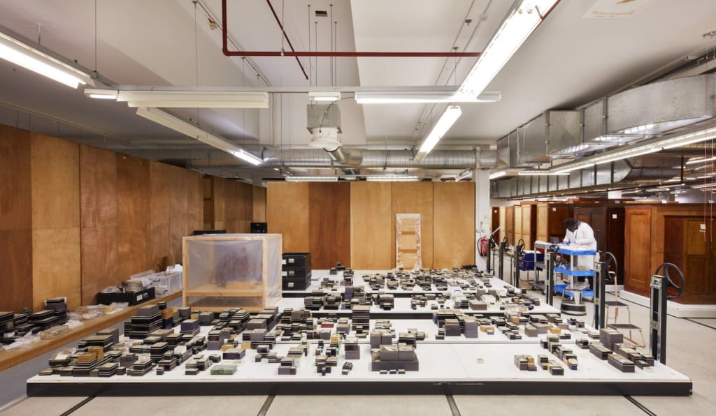 natural history museum relocation harwell campus
