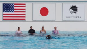 Team USA in PerfectSwell Japan